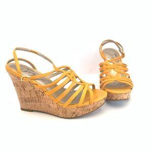 Fergie Yellow Wedges